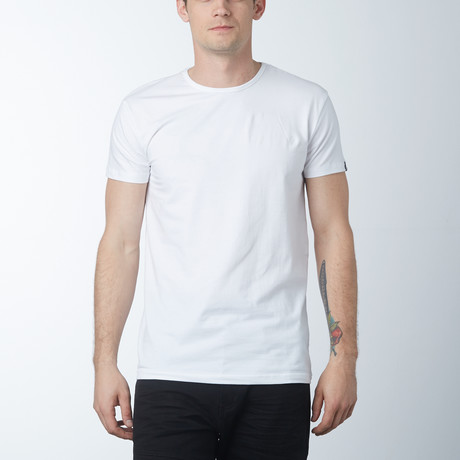 Crew Neck T-Shirt // White (S)