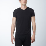 V-Neck T-Shirt // Black (M)