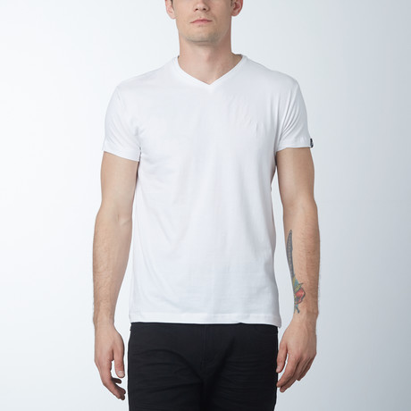 V-Neck T-Shirt // White (S)