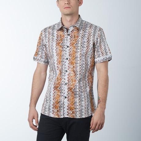 Spear 2 Short Sleeve Shirt // Cashew (S)