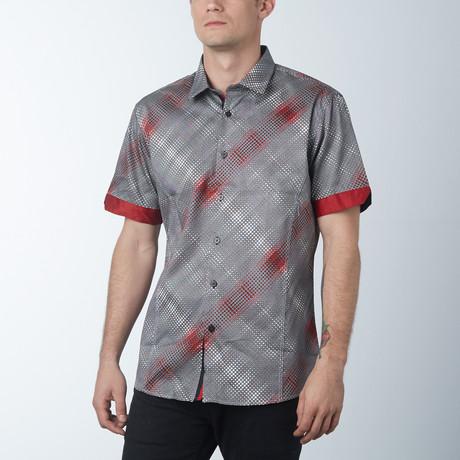 Billow 2 Short Sleeve Shirt // Rouge
