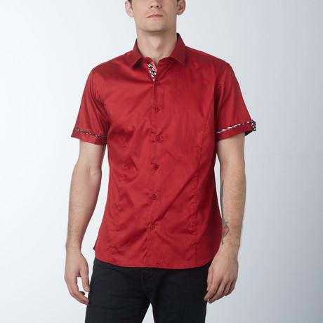 Silk 2 Short Sleeve Shirt // Brick (S)