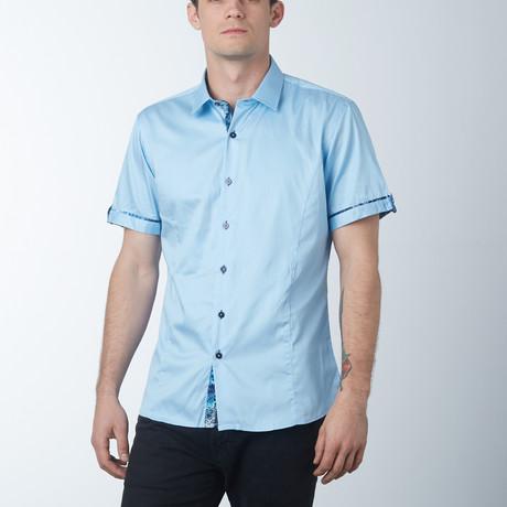 Silk 2 Short Sleeve Shirt // Sky (S)