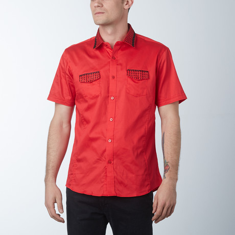 Guava Short Sleeve Shirt // Red (S)