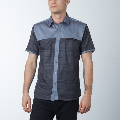 Ace Short Sleeve Shirt // Gray