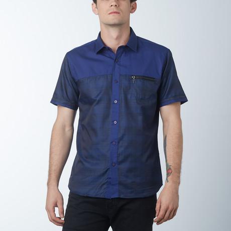 Ace Short Sleeve Shirt // Navy (S)