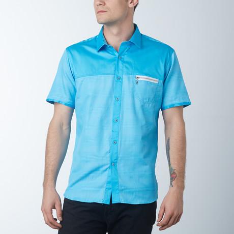 Ace Short Sleeve Shirt // Turquoise (S)