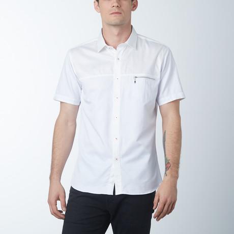 Ace Short Sleeve Shirt // White (S)