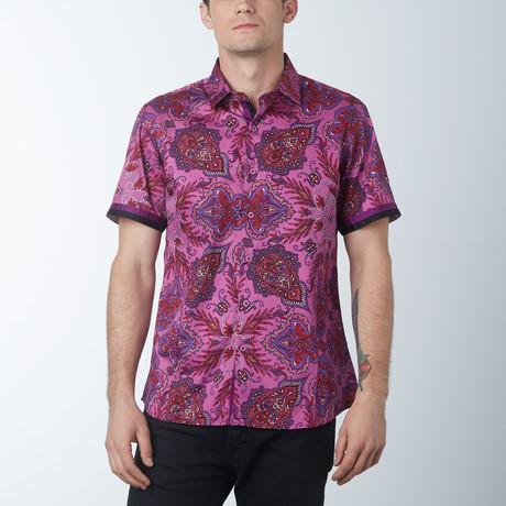 Tropic Dragon Short Sleeve Shirt // Purple (S)