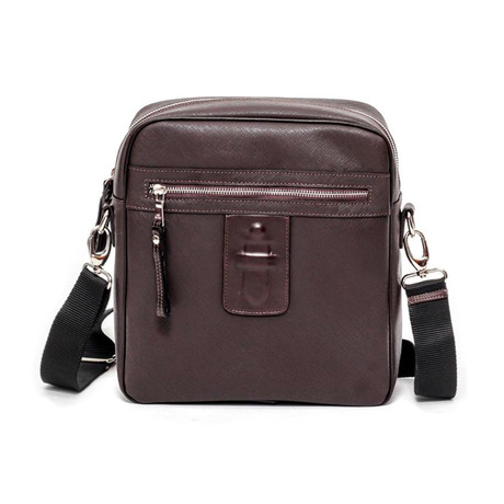 Sidney Gym Bag // Brown