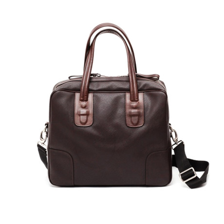 Garrison Messenger Briefcase // Brown