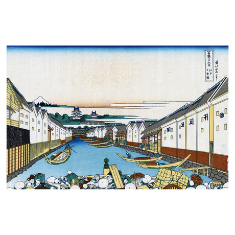 Nihonbashi Bridge in Edo