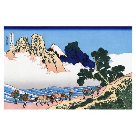 The Back of Fuji