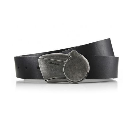 Aged Sundial Belt // Black (32)
