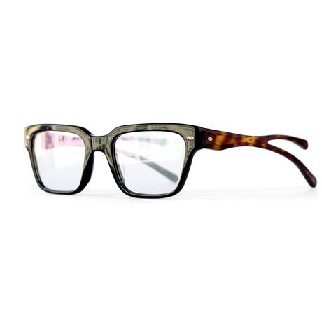 Activist Eyewear // Krieger Frame // Raven + Walnut