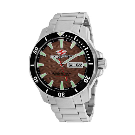 Seapro Scuba Dragon Diver Quartz // Limited Edition // SP8315S