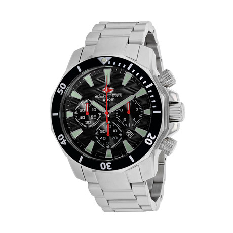 Seapro Scuba Dragon Diver Chronograph 1000M Quartz // SP8340