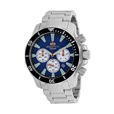 Seapro Scuba Dragon Diver Chronograph Quartz // Limited Edition // SP8345