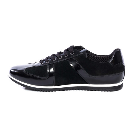 Alexander Leather Sneakers // Black