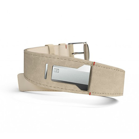 Klokers Quartz // KLINK-01-MC6 // Gray Alcantara Bracelet Strap