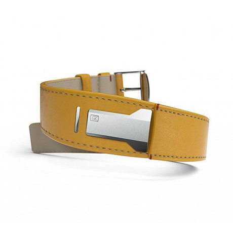 Klokers Quartz // KLINK-01-MC7// Yellow Bracelet Strap