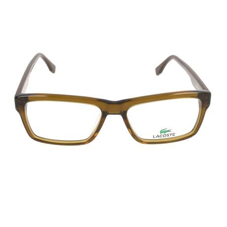 Men's L2721 Optical Frames // Olive Brown