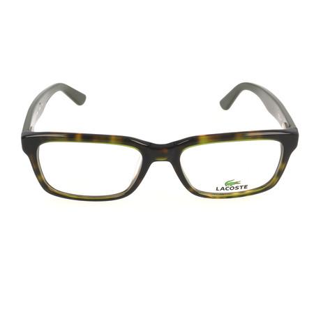 Men's L2672 Optical Frames // Green Havana (54mm)