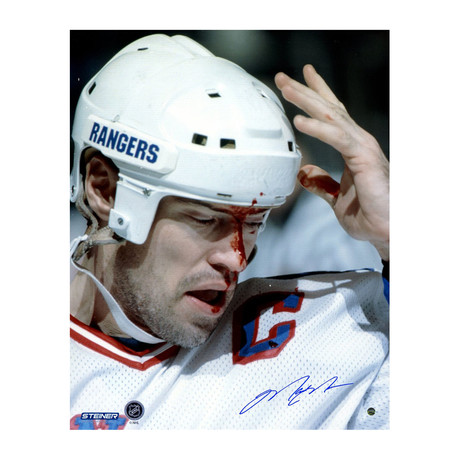 Signed Photo // Mark Messier