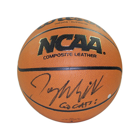 Jay Wright Signed NCAA Basketball