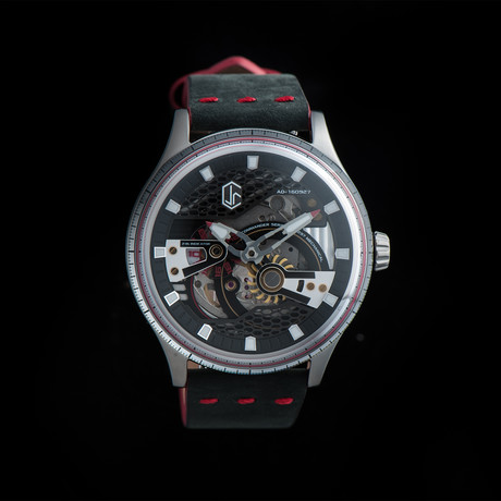 CJR Commander Automatic // Molten Red // CO3-SS-BK-01
