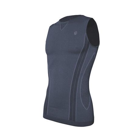 VivaSport 2 Thermal Sleeveless T-Shirt // Blue
