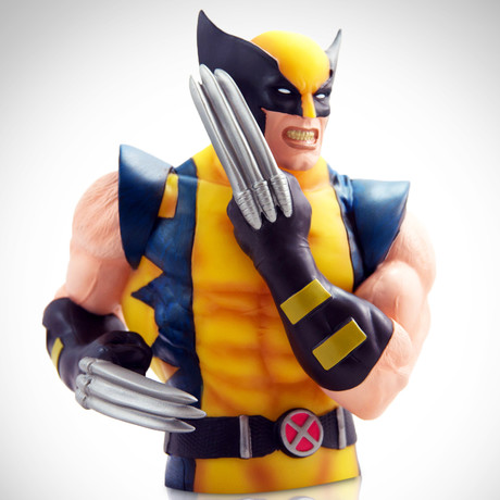 Wolverine // Bust Bank Limited Edition Statue