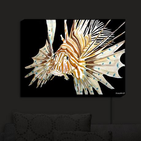 Illuminated Wall Art // Marley Ungaro's Deep Sea Life // Lion Fish
