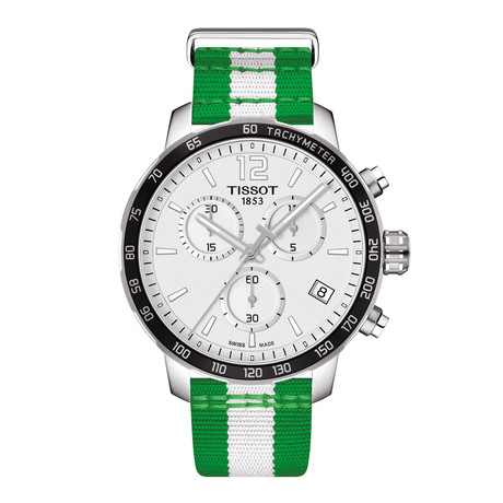 Tissot Quickster Chronograph Quartz // Boston Celtics