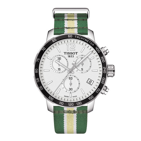 Tissot Quickster Chronograph Quartz // Milwaukee Bucks