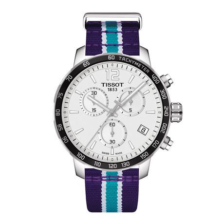 Tissot Quickster Chronograph Quartz // Charlotte Hornets