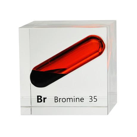 Lucite Cube // Bromine
