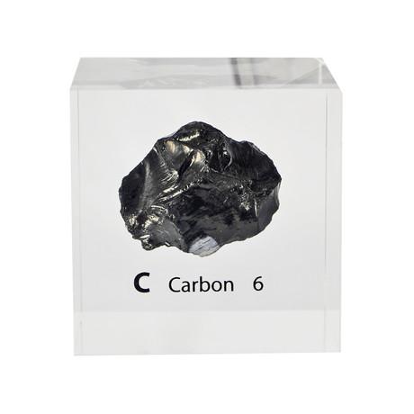 Lucite Cube // Carbon