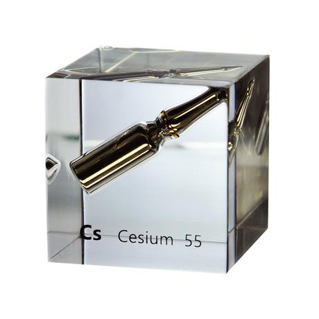 Lucite Cube // Cesium