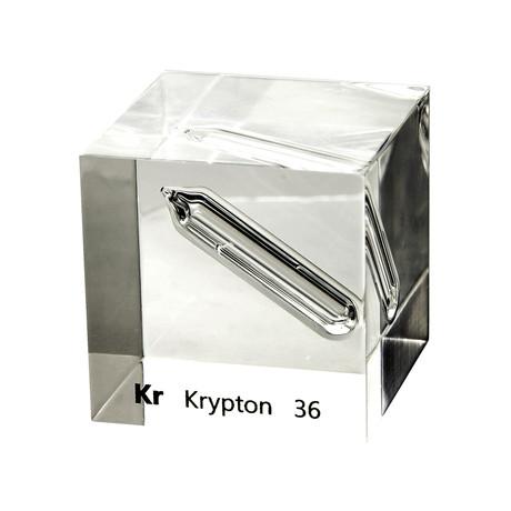 Lucite Cube // Krypton