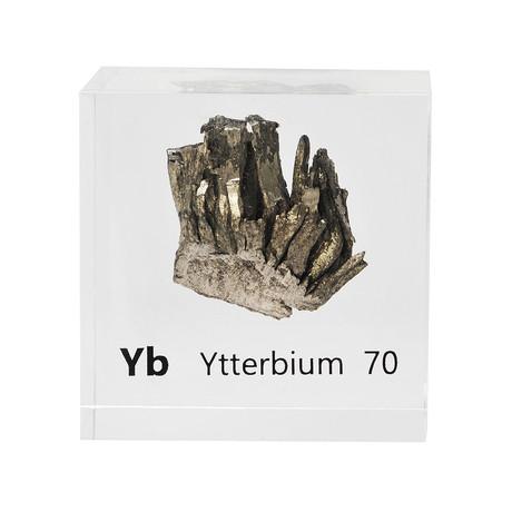 Lucite Cube // Ytterbium