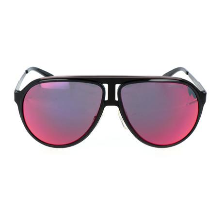 Carrera 100 Sunglasses // Black + Red