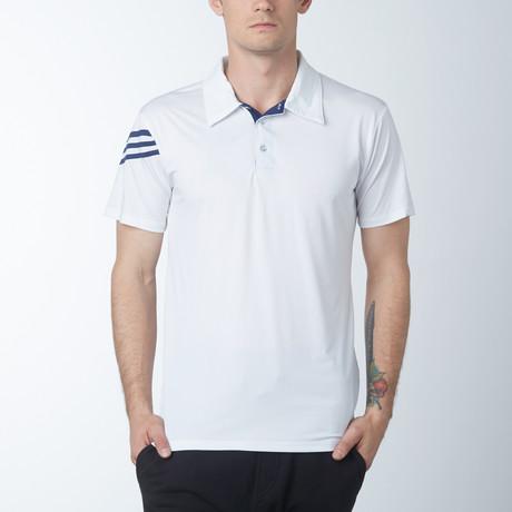 Driver Fitness Tech Polo // White