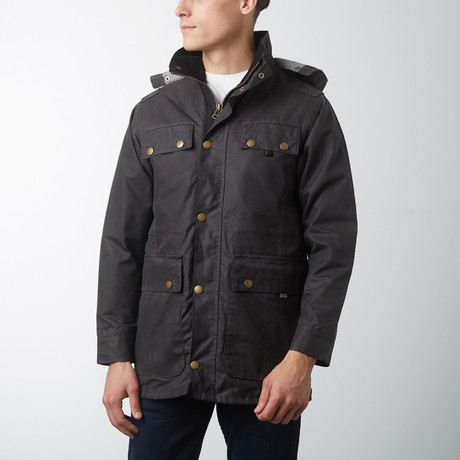 Bilton Jacket // Gunmetal (XL)