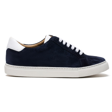 Kash Suede Shoes // Navy