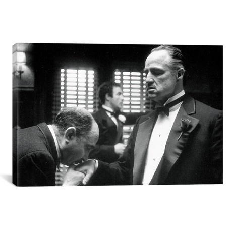 "Marlon Brando // Godfather II (18""W x 26""H x 0.75""D)"