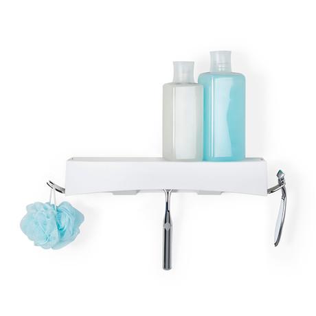 Clever Flip Shelf // White