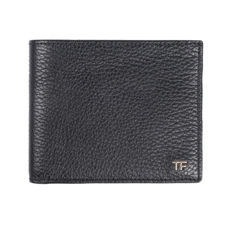 Bi Fold Wallet // Black