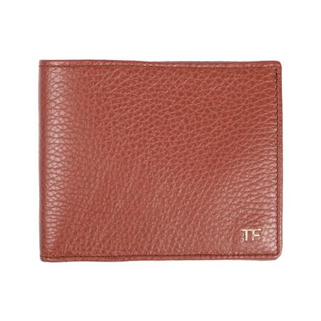Bi Fold Wallet // Beige Texture