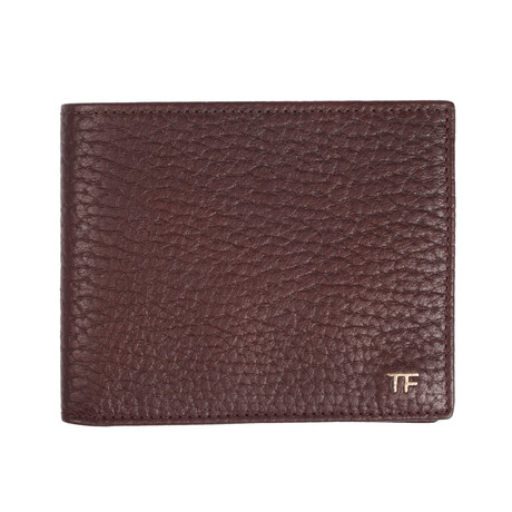 Bi Fold Wallet // Medium Brown